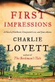Go to record First impressions : a novel of old books, unexpected love,...