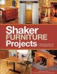 Go to record Shaker furniture projects