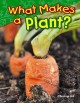 Go to record What makes a plant?