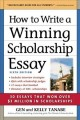 Go to record How to write a winning scholarship essay : including 30 es...