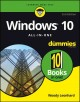 Go to record Windows 10 all-in-one for dummies