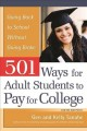 Go to record 501 ways for adult students to pay for college