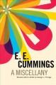 Go to record E. E. Cummings : a miscellany.