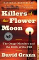 Go to record Adult book discussion kit #523 Killers of the Flower Moon ...